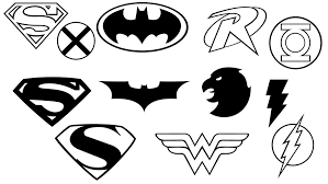 Small Picture Justice league coloring pages all logos ColoringStar