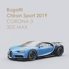 Bugatti chiron sport 2020 is a 2 seater coupe available at a price of rm 12.5 million in the malaysia. Sport Chiron Bugatti 3d Model Turbosquid 1268505