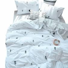 details about bulutu kids duvet cover full cotton white grey premium boys girls bedding sets