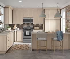 contemporary juno textured laminate kitchen cabinets in tusk finish