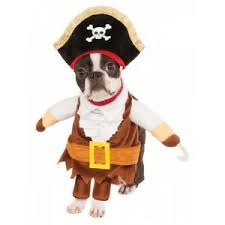 Ups Dog Costume Size Chart Details About Walking Pirate Costume Pet Halloween Fancy Dress