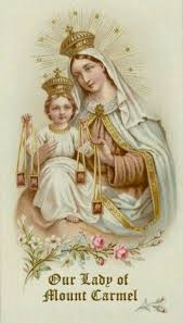 Mount Carmel My Chart Our Lady Of Mt Carmel Blessed Virgin Mary Lady Of Mount