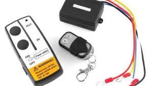 3 wireless winch remote control kit 12v for truck jeep suv atv factory direct dc 12v black wireless 50ft remote control kit for car truck