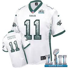 11 Carson Lii White Elite Philadelphia Men's Super Jersey Sale Drift Fashion Wentz Eagles Football Bowl