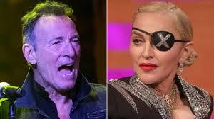Bruce Springsteen Beats Madonna To Top Uk Album Chart Bbc News