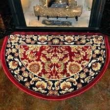half round rugs red and black hearth rug not sophisticated ikea singapore
