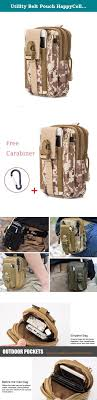Utility Belt Pouch HappyCell edc Bag Tactical Pouch Molle Pouch ...