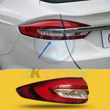 Ford Fusion Lights Details About Left Driver Outer Side Tail Light Brake Lamp For Ford Fusion Mondeo 2017 2018