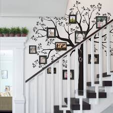staircase family tree wall decal family tree wall stickers