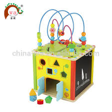 Wooden Bead Game Extraordinary Cube Bead Game Toy Multiplay Wholesale Kids Math Wooden Bead Maze