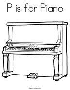 Small Picture Piano Coloring Page Twisty Noodle