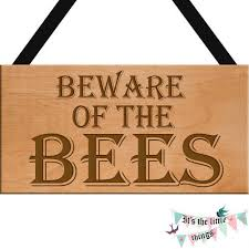 beware of the bees engraved gift idea
