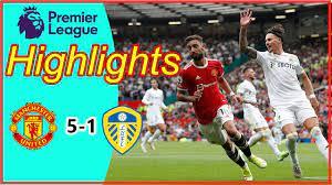 Manchester United 5-1 Leeds United | ไฮไลท์ฟุตบอลพรีเมียร์ลีก 2021 - YouTube