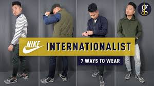 7 Casual <b>Fall Autumn</b> Outfits for Men | Nike Internationalist ...