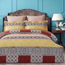 <b>Комплект постельного белья</b> Arya home collection Yiannis, <b>золотой</b>