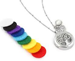 aromatherapy essential oil diffuser necklace jewelry aromatherapy jewelry hypoallergenic 316l surgical grade snless steel