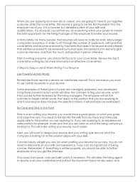 An Impressive Resumes Resume And Cover Letter Writing 3 Tips For Writing An Impressive