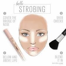Image Via We Heart It Beauty Cosmetics Highlighter Howto