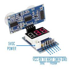 pin out of the hc sr04 tester module