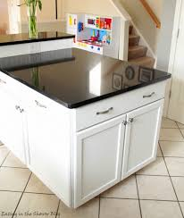 Kitchen Graceful Diy Island From Cabinets Bench Base Best 25 Build