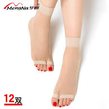 [USD 16.88] Mona fish mouth short stockings women dew <b>toe socks</b> ...
