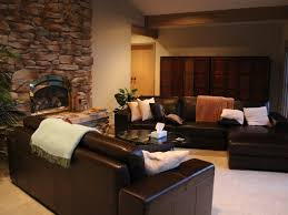 cozy living room with fireplace. Cozy Living Room Makeover Black Sofa With Fireplace