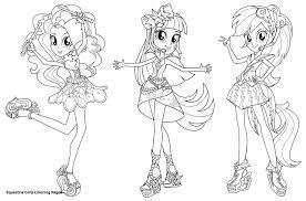 25 Zoeken My Little Pony Equestria Girls Kleurplaat Mandala