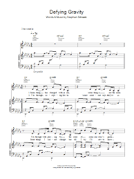defying gravity sheet music defying gravity sheet music direct