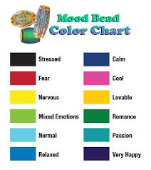 What Mood Ring Colors Mean Chart 20 Prototypal What Does The Mood Ring Colors Mean
