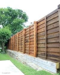 horizontal wood fence. Modren Fence Wood Slat Fence Horizontal Hi Sugarplum  Wooden Roll To