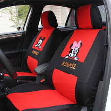 new red cartoon mickey mouse car seat