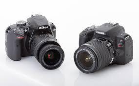Entry Level Dslrs Compared Canon Eos Rebel Sl2 Vs Nikon