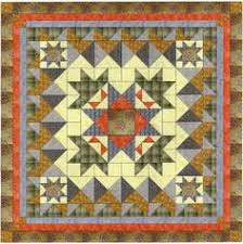 Easy Quilt Kit Crown of Roses | Quilts | Pinterest & Easy Quilt Kit Crown of Roses/Scandinavian Hues Adamdwight.com