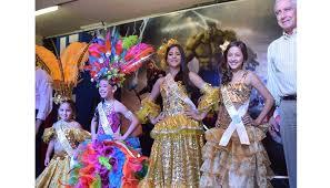Imposición de Bandas a Capitanas Infantiles del Carnaval 2018