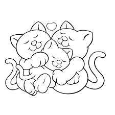 Katten Kleurplaten Kleurplatenpaginanl Boordevol Coole Kleurplaten