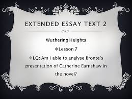 wuthering heights emily bronte extended essay text wuthering  wuthering heights emily bronte 2 extended essay