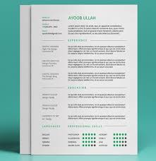 Resumes Free Templates Gorgeous Best Free Resume Templates In PSD And AI In 48 Colorlib