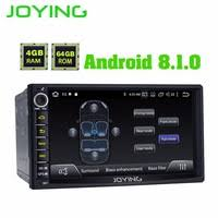 double 2 din 4gb 64gb universal head unit android 8 1 car stereo built in 4g modem dsp for toyota nissan honda gps no dvd player