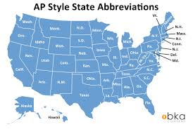 Bka Content Abbreviations Name State Style Ap