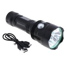 Securitying Lights 2019 Securitying Super Bright 3x Xm L T6 Led 2400lumens Waterproof Flashlight Torch With 6 Modes Light Usb Charging For Household Lef_s0x From