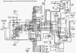 schémas électrique des harley davidson big twin wiring diagrams 1978 à fin 1979 fx 104 3 kb