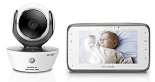 Amazon.com : Motorola MBP854CONNECT Dual Mode Baby Monitor with 4.3 ...