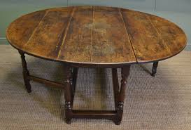 antique oak oval dining table. large eighteenth century country oak antique drop leaf gate leg dining table oval