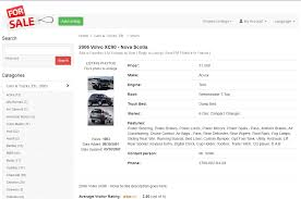 classifieds templates php classified ads software listing details desktop layout view