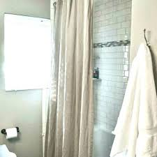 short shower curtain liner length rod archives