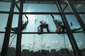 highrise window washers with picture perfect window cleaning wash the glass on the canadian museum