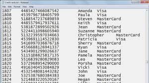 fake credit card numbers video dailymotion fake visa card number