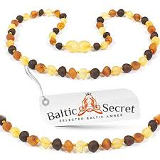 Amber Necklace - <b>Genuine Baltic Amber</b> Necklace - Raw Baltic
