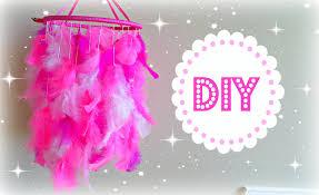 diy feather mobile diy dream catcher diy room decoration 2cupsofdelight you