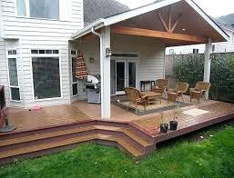 covered deck ideas. Covered Deck Ideas Partially Home Design Pinterest . E